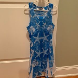 Other - Girls seashell dress, size large (approx. size 10)